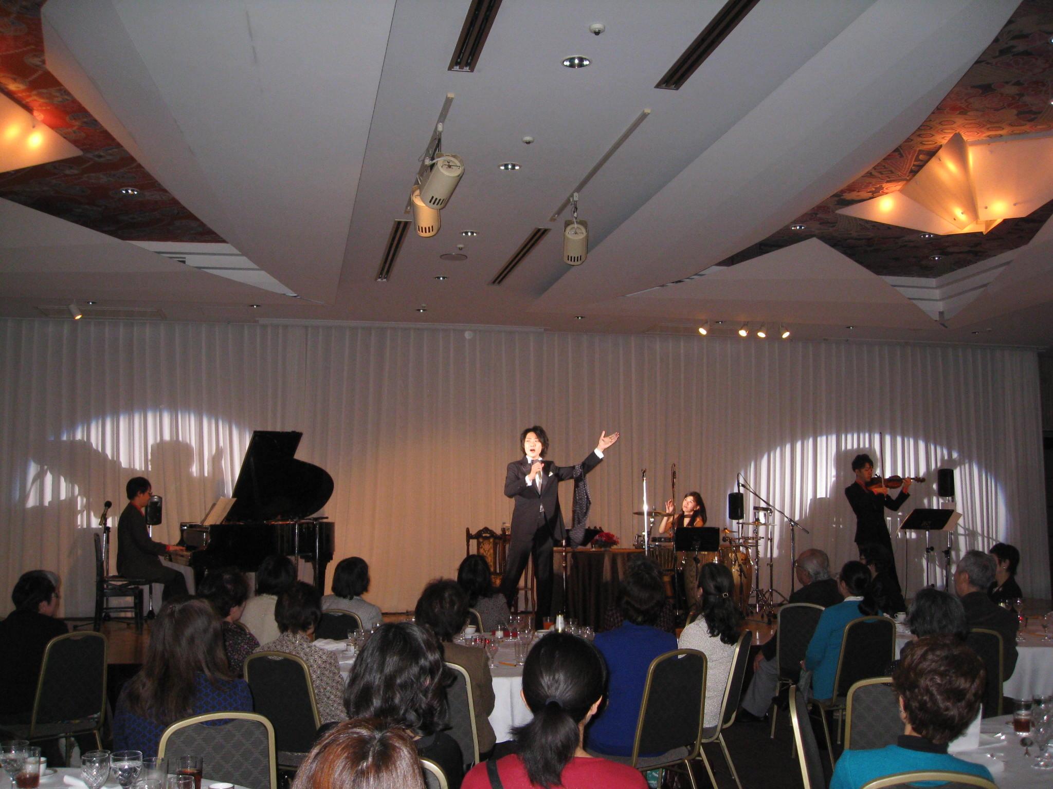 ホテルショーイベント(東京会館)